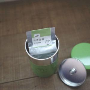 【  桂香包種  】琅彩茶罐裝