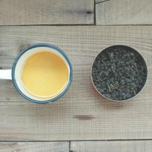 【 果韻鐵觀音 】茶湯、茶葉形狀
