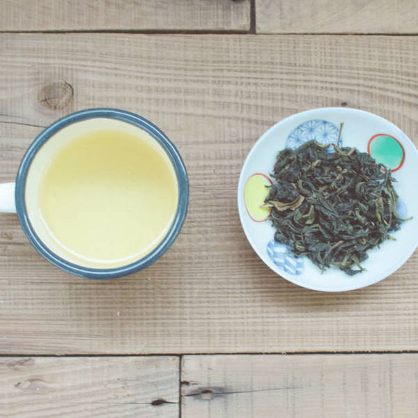 【 桂香包種 】茶湯、茶葉形狀
