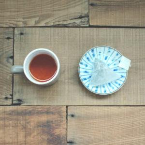 【 04 烏龍紅茶 】茶湯、立體茶包袋
