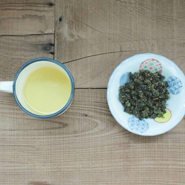 【 野香烏龍 】茶湯、茶葉形狀