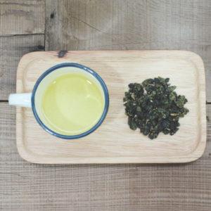 【 悠韻烏龍 】茶湯、茶葉形狀