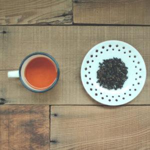 【 奶萱紅茶 】茶湯、茶葉外形