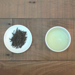 【 12 苔香龍井 】茶湯、茶葉