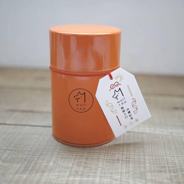 琅彩茶罐裝 / 橘