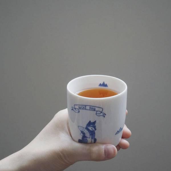 【良辰美景禮盒】雙琅對杯的山倒影反射