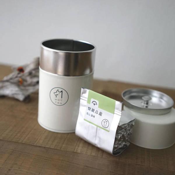 【 梨緻烏龍 】琅彩茶罐裝