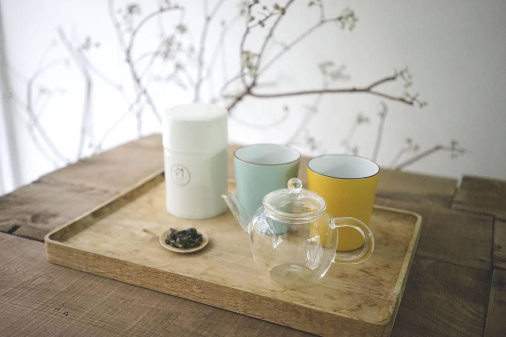 如何泡茶|步驟一:準備茶葉、壺、大杯子