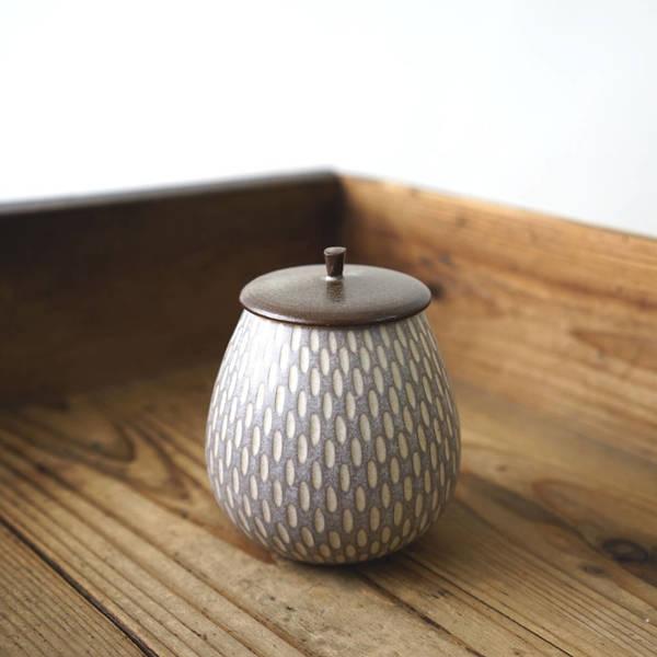 【作家茶器|山下真由美】果實茶罐 - 藕芋