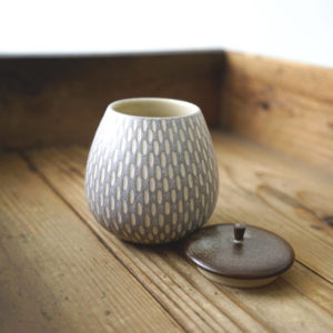 【作家茶器|山下真由美】果實茶罐 – 藕芋