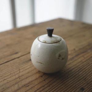 【 作家茶器|方煜程 】茶罐 – 雪藏