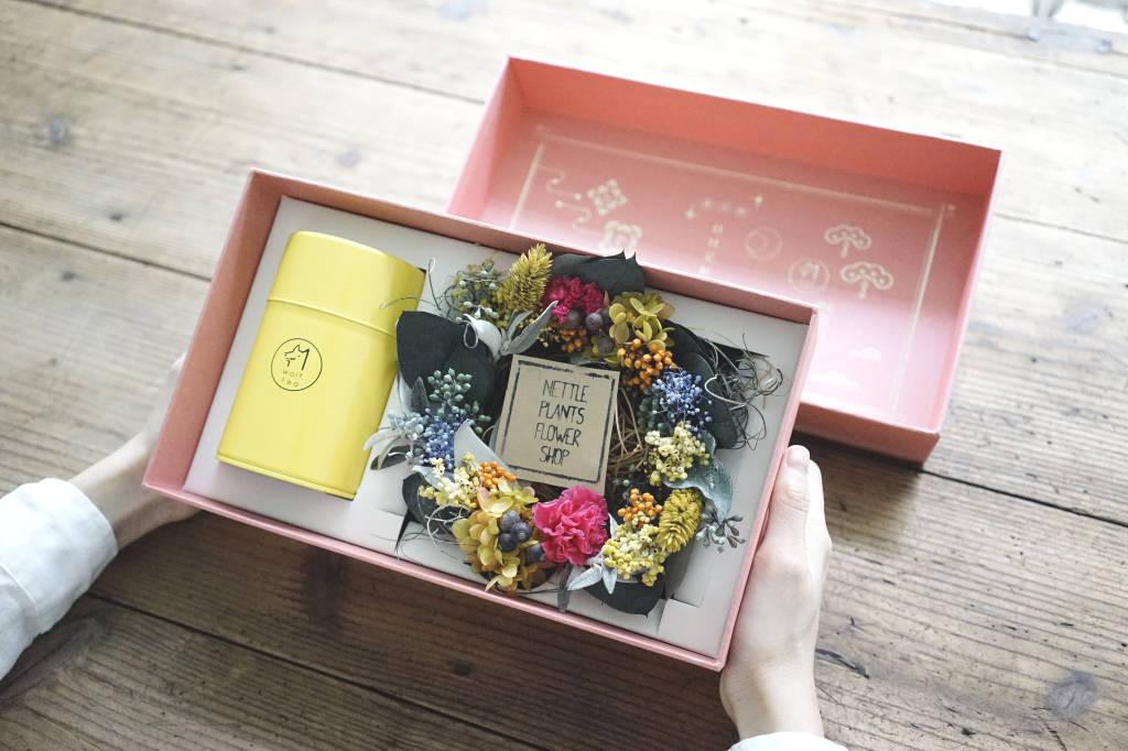 【 母親節禮盒 】東方美人花園 | 永生花