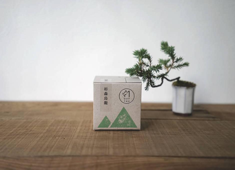 【 杉森烏龍 】散茶外盒