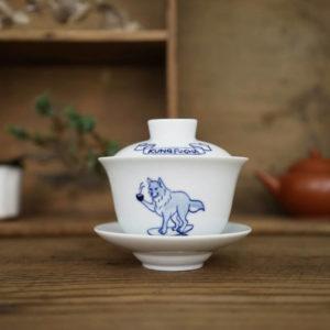 琅茶 x 只是 手繪蓋杯