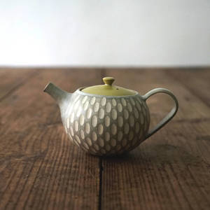 作家茶器|山下真由美 】茶壺 – 寂稻