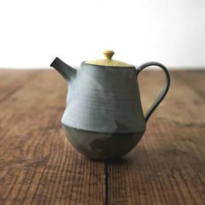【 作家茶器|山下真由美 】 茶壺 – 墨紳