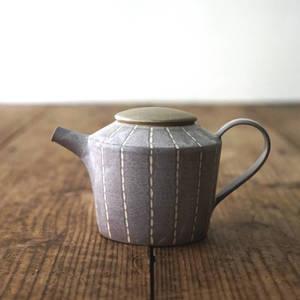 【 作家茶器|山下真由美 】 茶壺 – 菫居