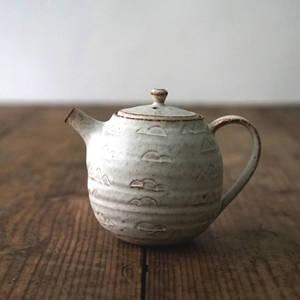【 琅茶限定 x 山下真由美 】 茶壺 – 銹雪 / 梗蓋 (大)