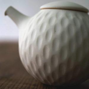 【 作家茶器|山下真由美 】 茶壺 – 螢者