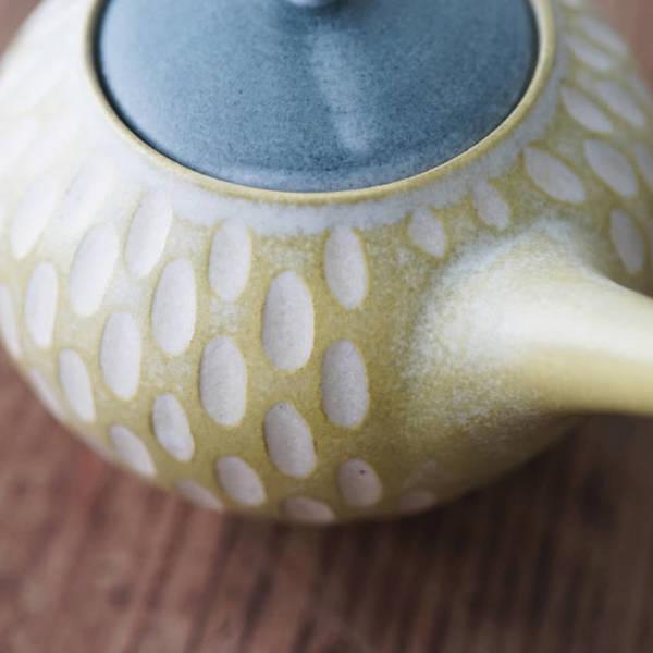 【 作家茶器|山下真由美 】 茶壺 – 沃浪