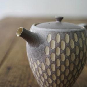 【 作家茶器|山下真由美 】 茶壺 – 薰苑