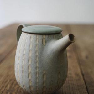 【 作家茶器|山下真由美 】 茶壺 – 霑果