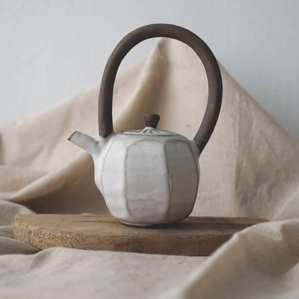 【 作家茶器|方煜程 】彎把壺 — 靄靄