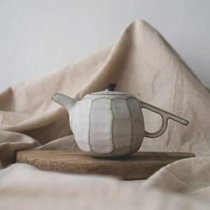 【 作家茶器|方煜程 】 鳥羽壺 — 靄靄