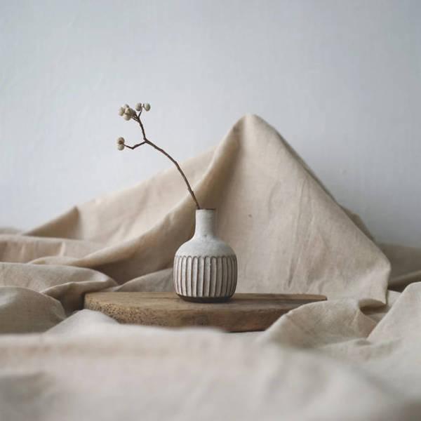 【 作家茶器 方煜程 】 花器 D