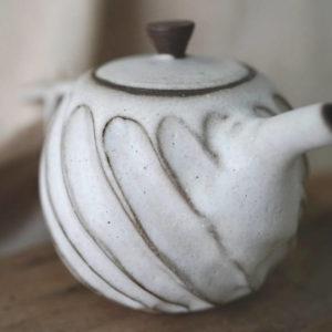 【 作家茶器 方煜程 】 鳥羽壺 — 漩滔