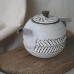 【 作家茶器|方煜程 】 鳥羽壺 — 岩跡