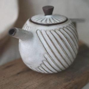 【 作家茶器|方煜程 】 鳥羽壺 — 漩雨