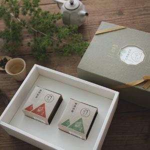 【窗花茶香禮盒】雙山