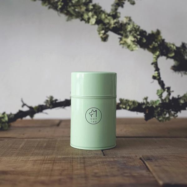 琅彩茶罐裝 / 苗青